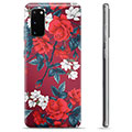 Samsung Galaxy S20 TPU Cover - Vintage Blomster
