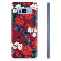 Samsung Galaxy S8 TPU Cover - Vintage Blomster