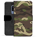 Samsung Galaxy S9+ Premium Flip Cover med Pung - Camo