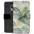 Samsung Galaxy S9 Premium Flip Cover med Pung - Tropic