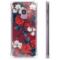Samsung Galaxy S9 Hybrid Cover - Vintage Blomster