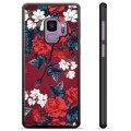 Samsung Galaxy S9 Beskyttende Cover - Vintage Blomster
