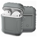 AirPods / AirPods 2 Silikone Cover - Shockproof Armor - Grå