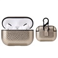 Snakeskin Series Textured AirPods Pro Cover - Guld