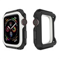 Apple Watch Series 4 Silikone Cover - 40mm - Sort / Hvid