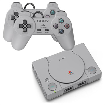 Sony PlayStation Classic Retro Spillekonsol - 20 Spil