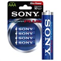 Sony Stamina Plus AAA Batteri AM4-B4D - 1.5V