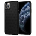 Spigen Liquid Air iPhone 11 Pro Max TPU Cover - Sort