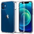 Spigen Liquid Crystal iPhone 12 Mini TPU Cover - Gennemsigtig