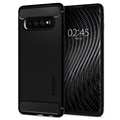 Spigen Rugged Armor Samsung Galaxy S10+ Cover - Sort