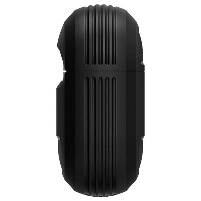 Spigen Rugged Armor AirPods Pro TPU Cover - Sort