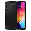 Spigen Rugged Armor Samsung Galaxy A50 TPU Cover - Sort