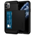 Spigen Slim Armor CS iPhone 11 Pro Max Cover - Sort