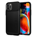 Spigen Slim Armor iPhone 12 Pro Max Cover - Sort