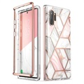Supcase Cosmo Samsung Galaxy Note10 Hybrid Cover - Pink Marmor