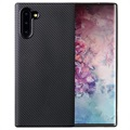 Samsung Galaxy Note10 TPU Cover - Karbonfiber - Sort
