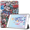 Tri-Fold Series iPad Mini (2019) Smart Folio Taske - Graffiti