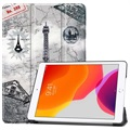 Tri-Fold Series iPad 10.2 2019/2020 Smart Folio Cover - Eiffeltårnet