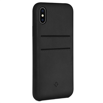 Twelve South Relaxed iPhone X / iPhone XS Læder Cover med Kortholder