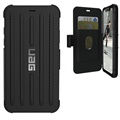 UAG Metropolis iPhone XR Robust Etui med Pung - Sort