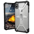UAG Plasma Series iPhone XS Max Cover - Frostet / Sort