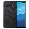 Ultratyndt Samsung Galaxy S10+ TPU Cover - Karbonfiber
