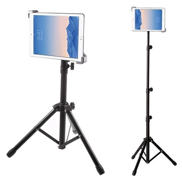 Universal Justerbar Tablet Tripod Stativ / Holder - 7-11""