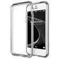 iPhone 5 / 5S / SE VRS Design Crystal Bumper Series Cover - Lys Sølv