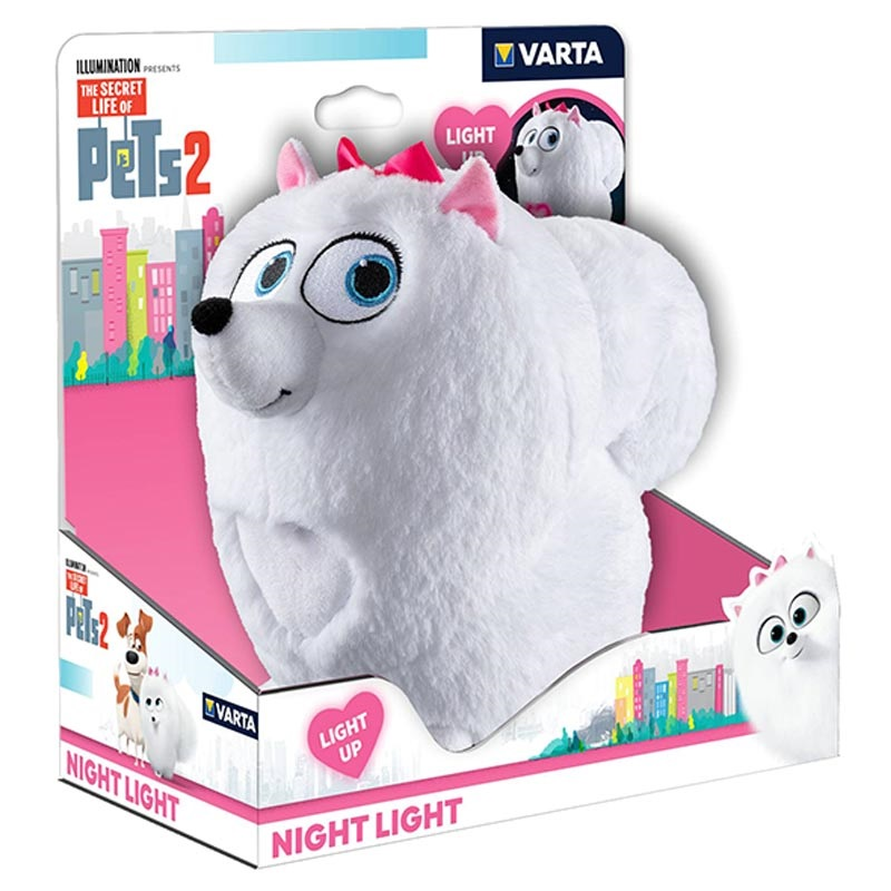 Varta Secret Life of Pets Nattelampe / LED Lampe - Gidget