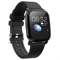 Vandtæt Bluetooth Sports Smartwatch CV06 - Silikone - Sort