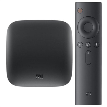 Xiaomi Mi Box Android Multimedia Afspiller - 4K UHD (Bulk) - Sort
