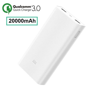 Xiaomi Mi Power Bank 2C PLM06ZM - 20000mAh - Hvid