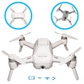Yuneec Breeze 4K Selfie Drone - iOS, Android - Hvid