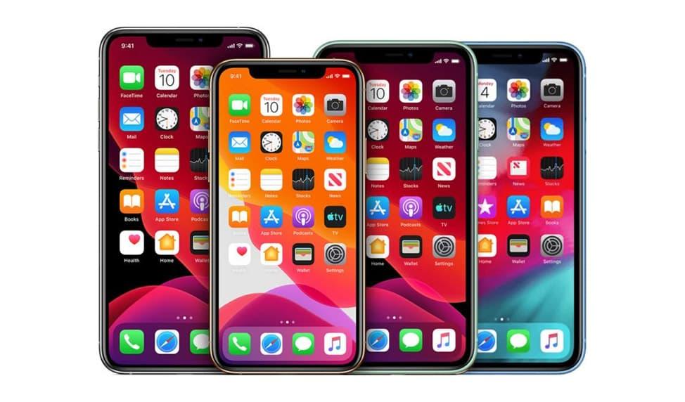 Apple smartphones fra 2020