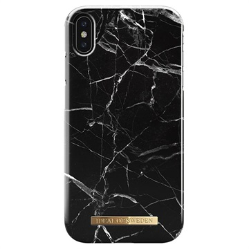 iDeal of Sweden Fashion iPhone XS Max Cover - Sort Marmor