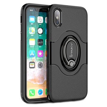 iPaky Hybrid Magnetisk Ring iPhone X Cover