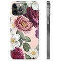 iPhone 12 Pro Max TPU Cover - Romantiske Blomster