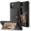iPhone 12 Pro Max TPU Cover med Kortholder
