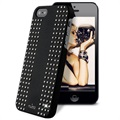iPhone 5 / 5S / SE Puro Rock Round Studs Cover - Sort