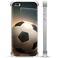 iPhone 5/5S/SE Hybrid Cover - Fodbold