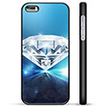 iPhone 5/5S/SE Beskyttende Cover - Diamant
