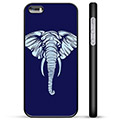 iPhone 5/5S/SE Beskyttende Cover - Elefant