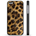 iPhone 5/5S/SE Beskyttende Cover - Leopard