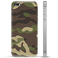 iPhone 5/5S/SE TPU Cover - Camo