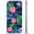 iPhone 5/5S/SE TPU Cover - Tropiske Blomster