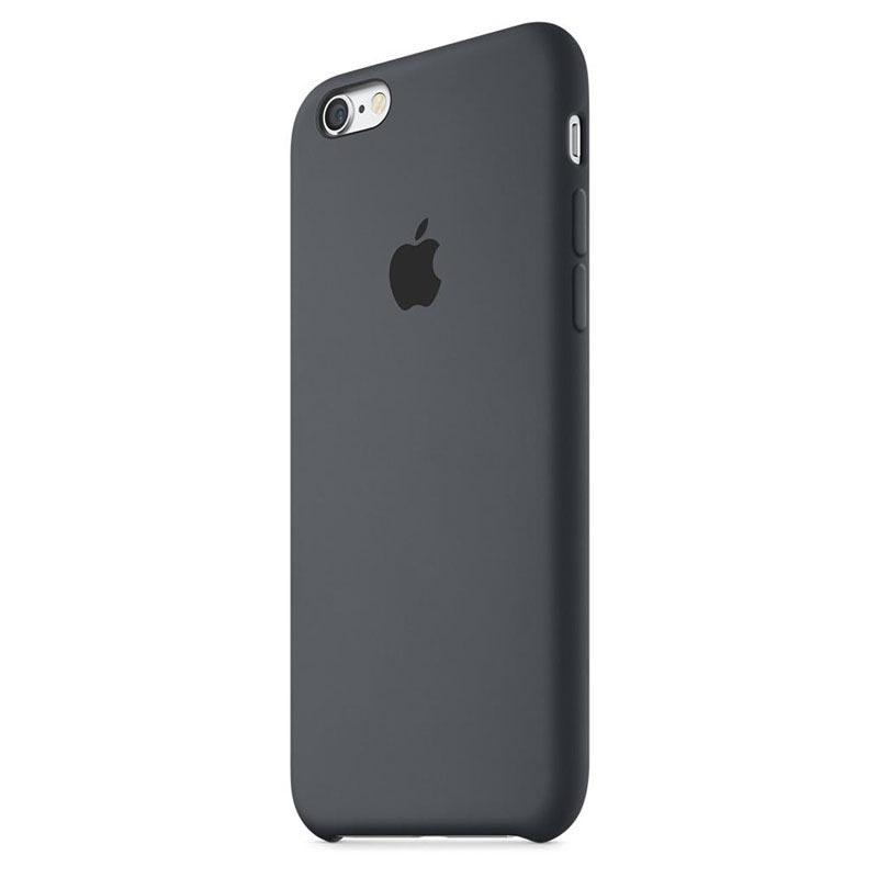 iphone 6 6s apple silikone cover mky02zm a kul gr. Black Bedroom Furniture Sets. Home Design Ideas