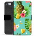iPhone 6 / 6S Premium Flip Cover med Pung - Sommer