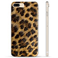iPhone 7 Plus / iPhone 8 Plus TPU Cover - Leopard