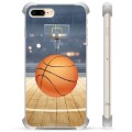 iPhone 7 Plus / iPhone 8 Plus Hybrid Cover - Basketball