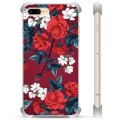 iPhone 7 Plus / iPhone 8 Plus Hybrid Cover - Vintage Blomster